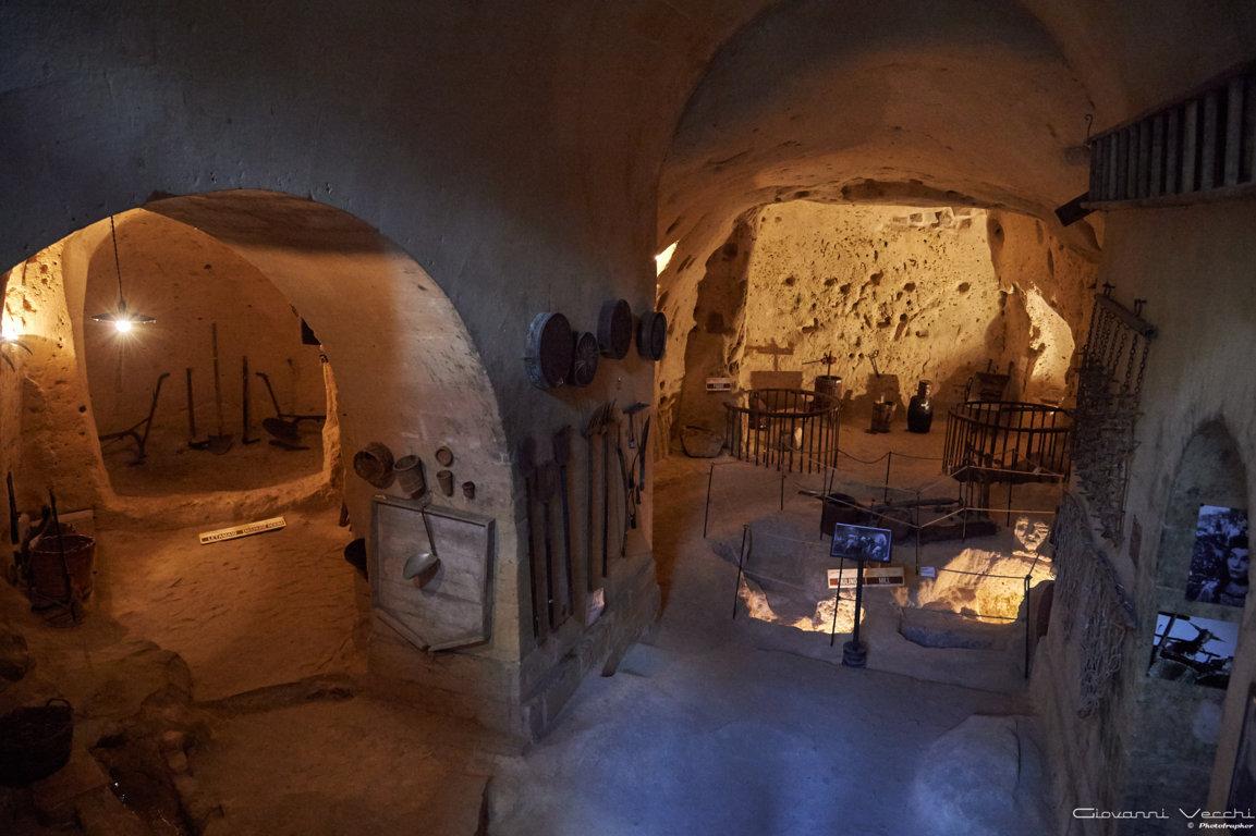 Case cisterna e raccolta delle acque matera sotterranei for Immagini di case